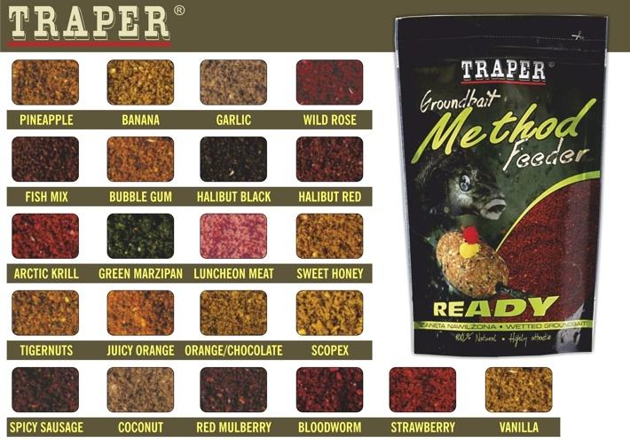 прикормка traper method feeder ready